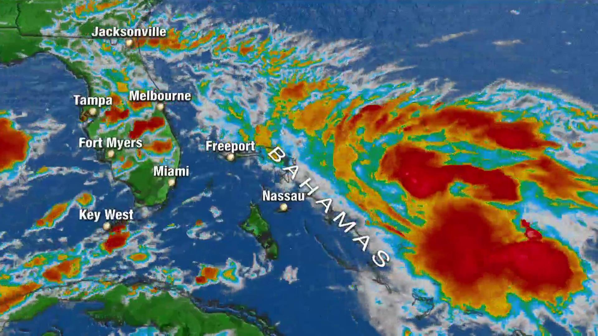 Bahamas, ravaged by Hurricane Dorian, brace for second hit as tropical storm approaches