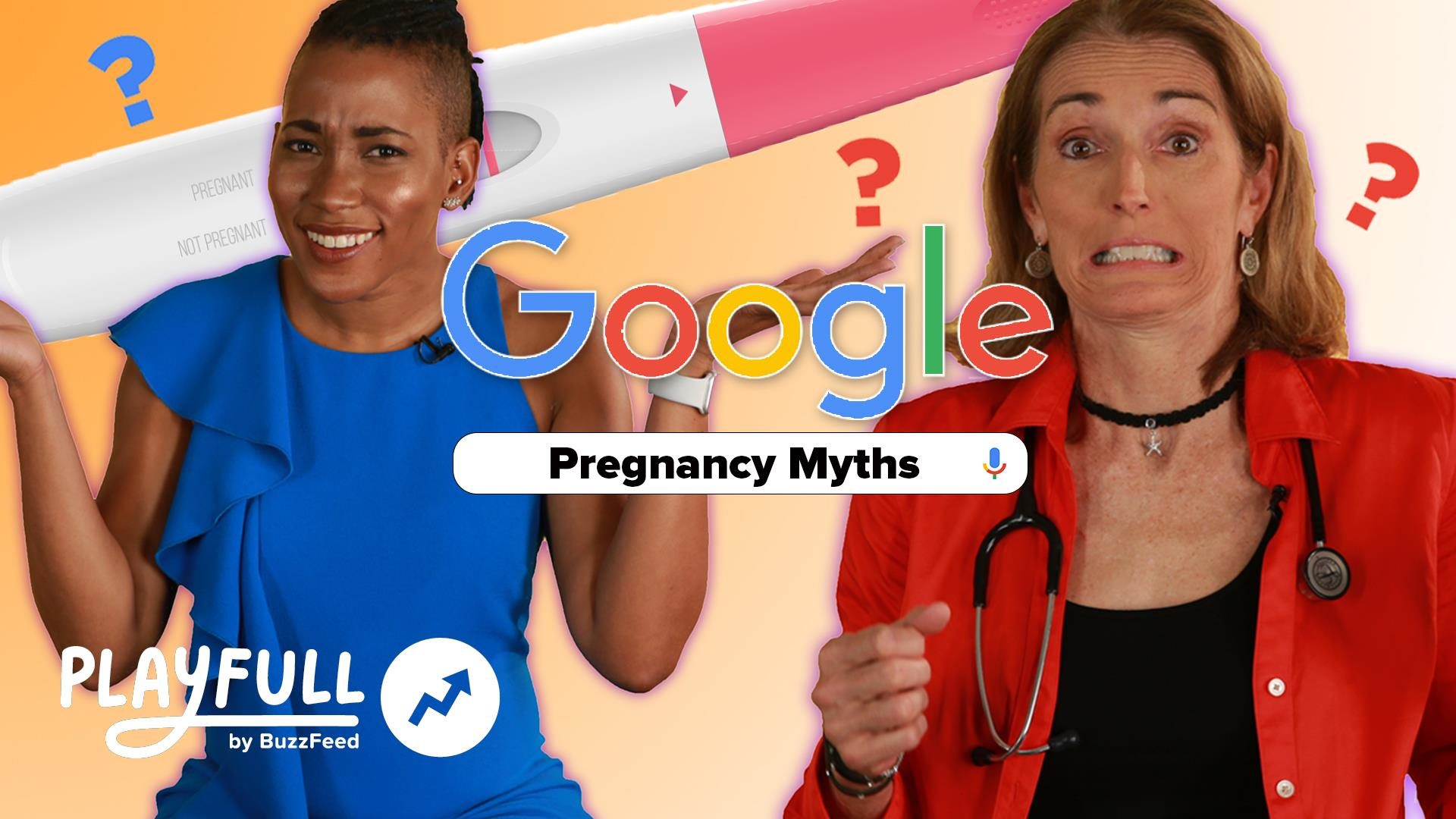 Doctors react to the most Googled pregnancy myths online
