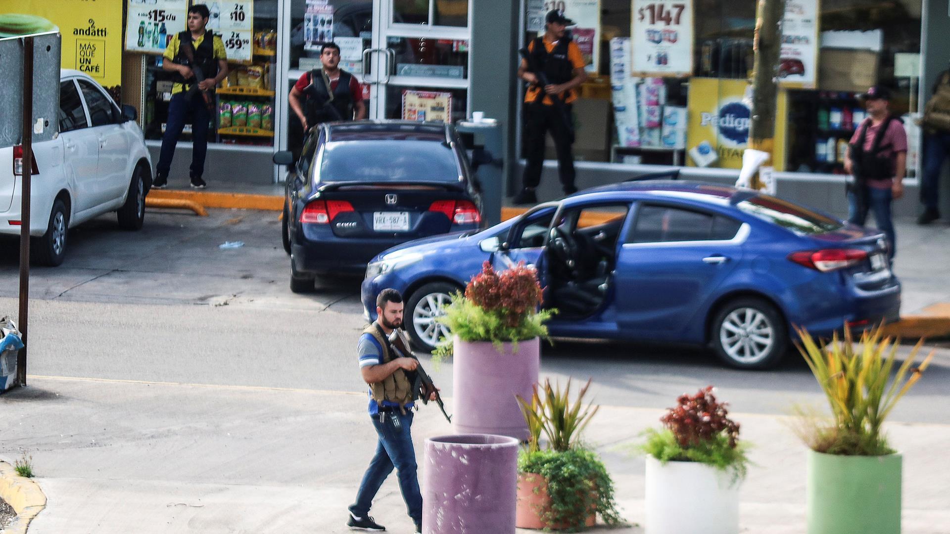 Gunbattles erupt in Mexico when El Chapo's son is captured, prompting his release