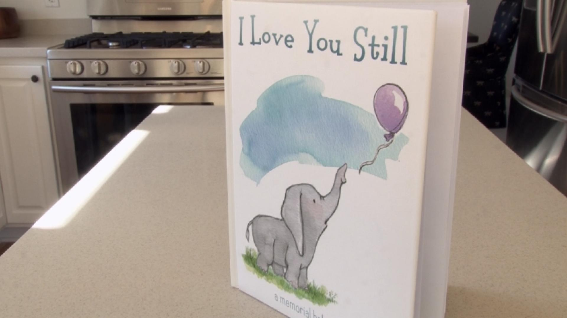 'I Love You Still' baby book offers comfort after miscarriage