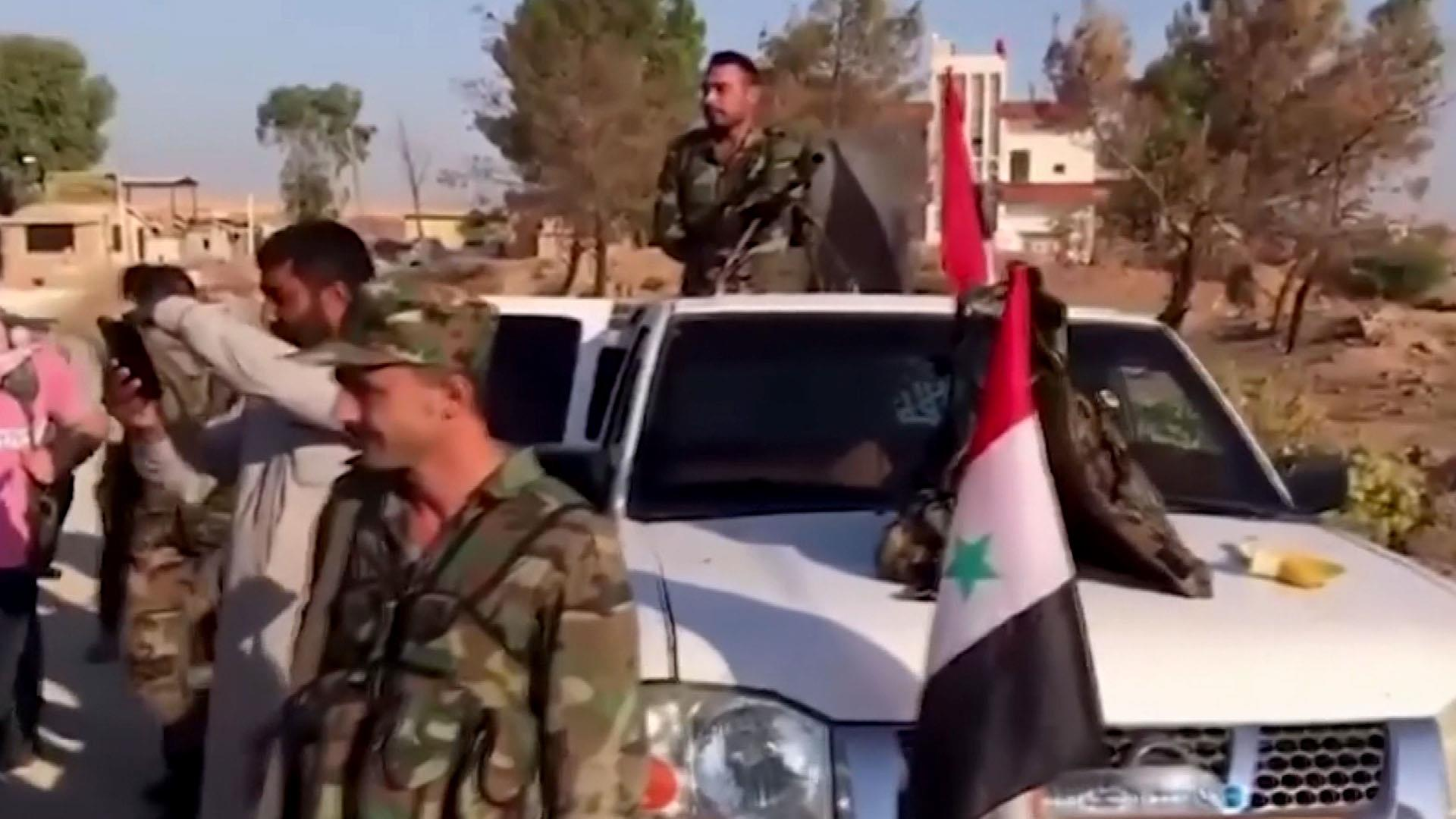 Kurdish forces strike deal with Damascus, Moscow to repel Turkey