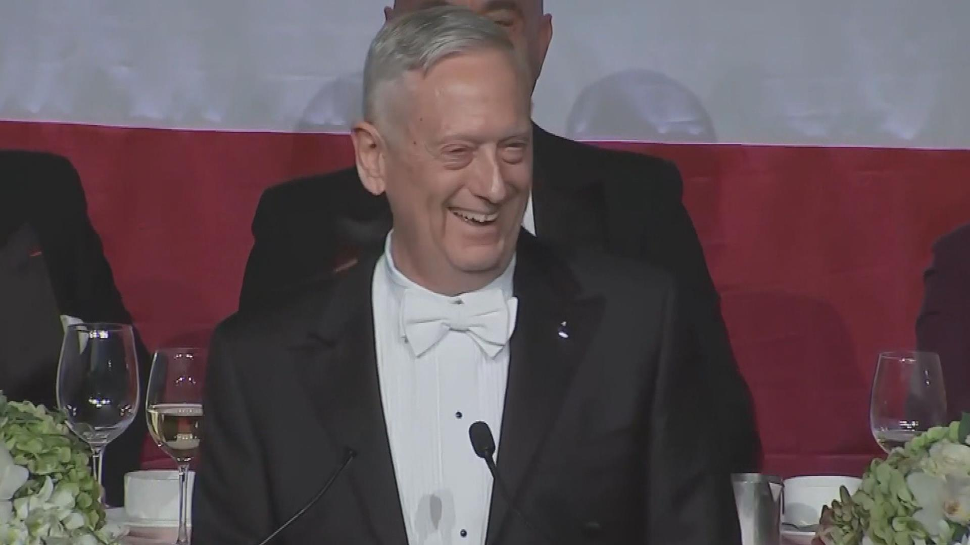 Mattis jokes about Trump's 'overrated general' comment