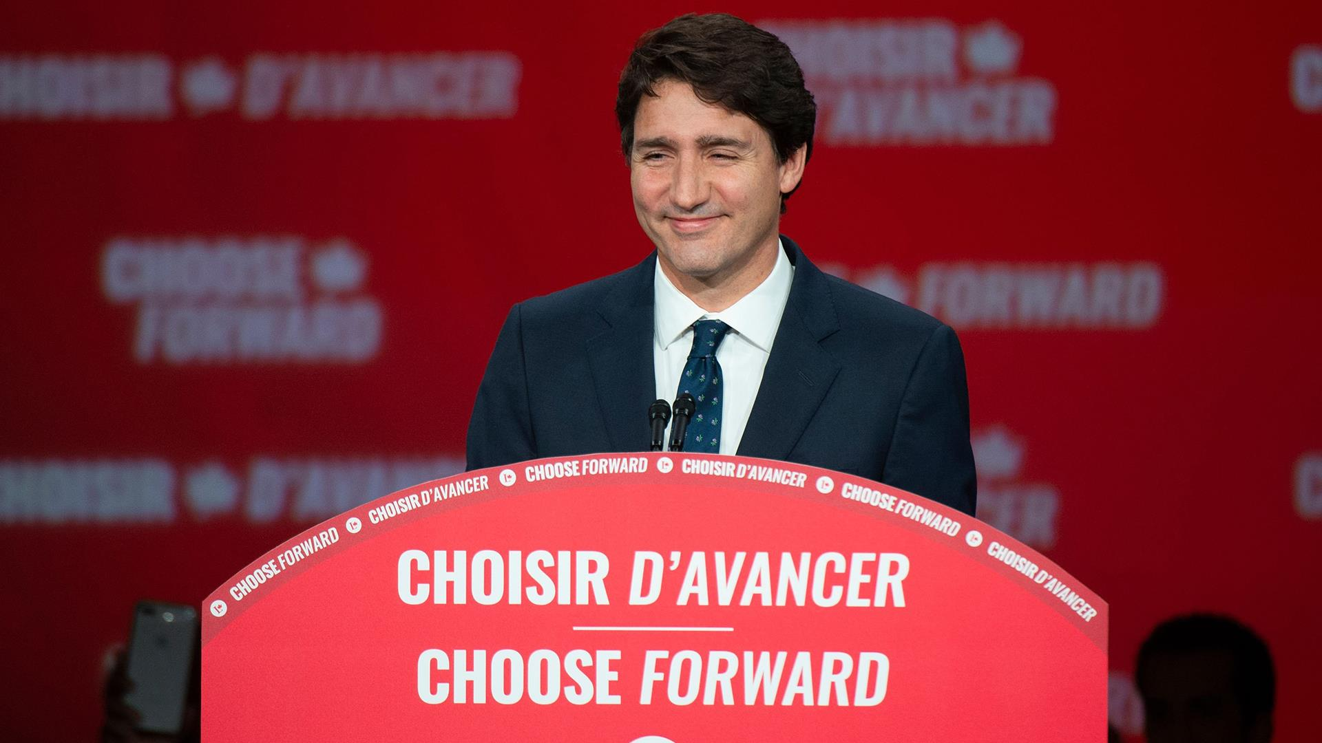 Scandal-scarred Trudeau projected to win re-election as Canada's prime minister