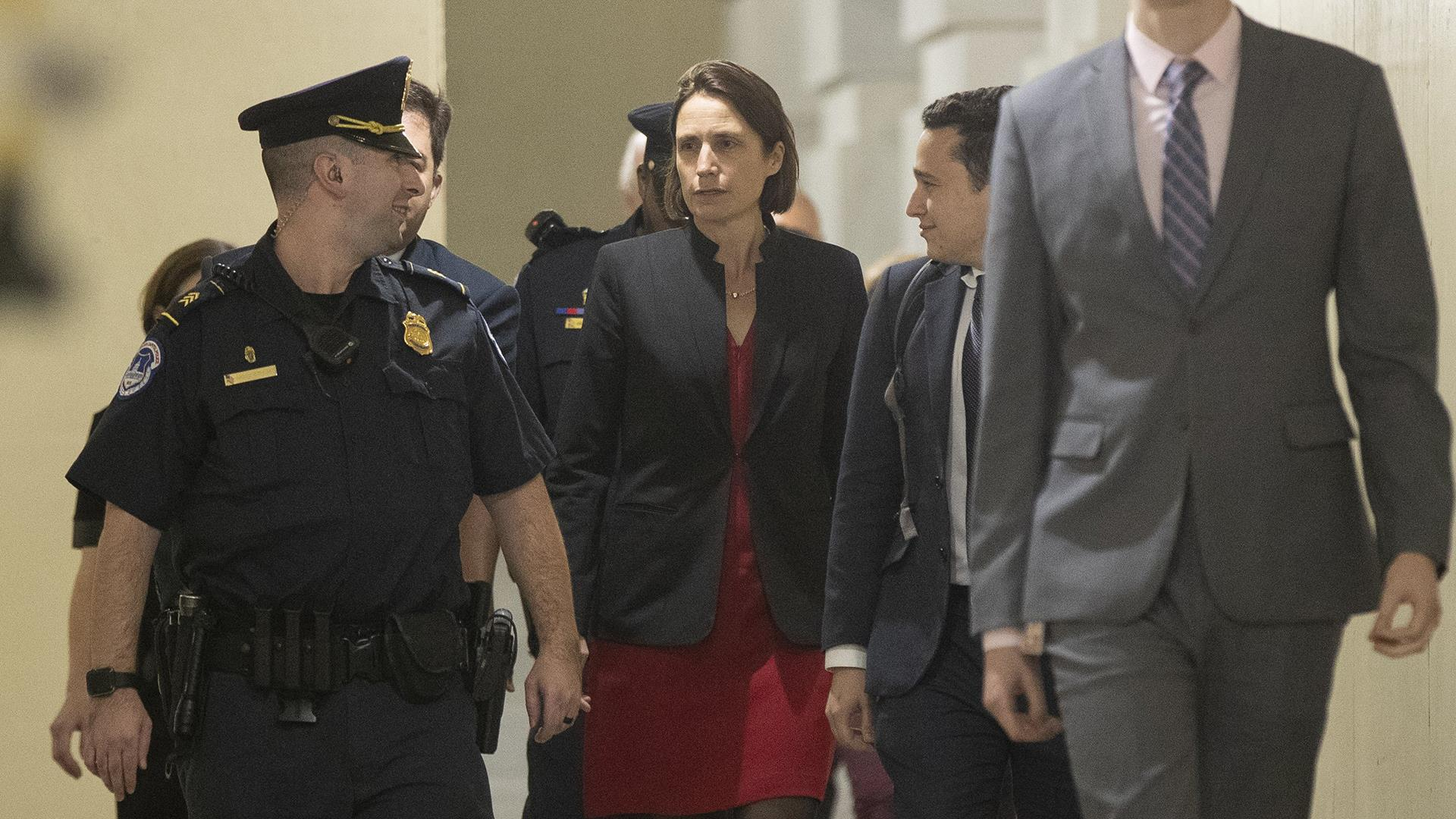 White House tried to limit what former Russia aide Fiona Hill could say to Congress, letters show