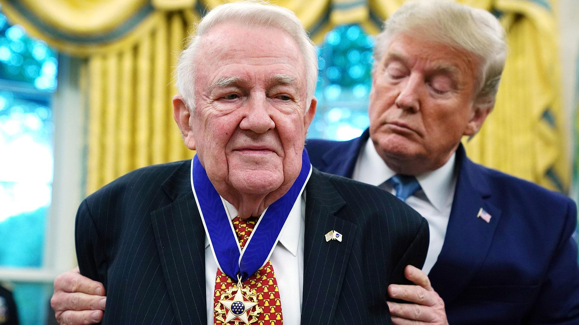 Trump presents Medal of Freedom to former Attorney General Edwin Meese