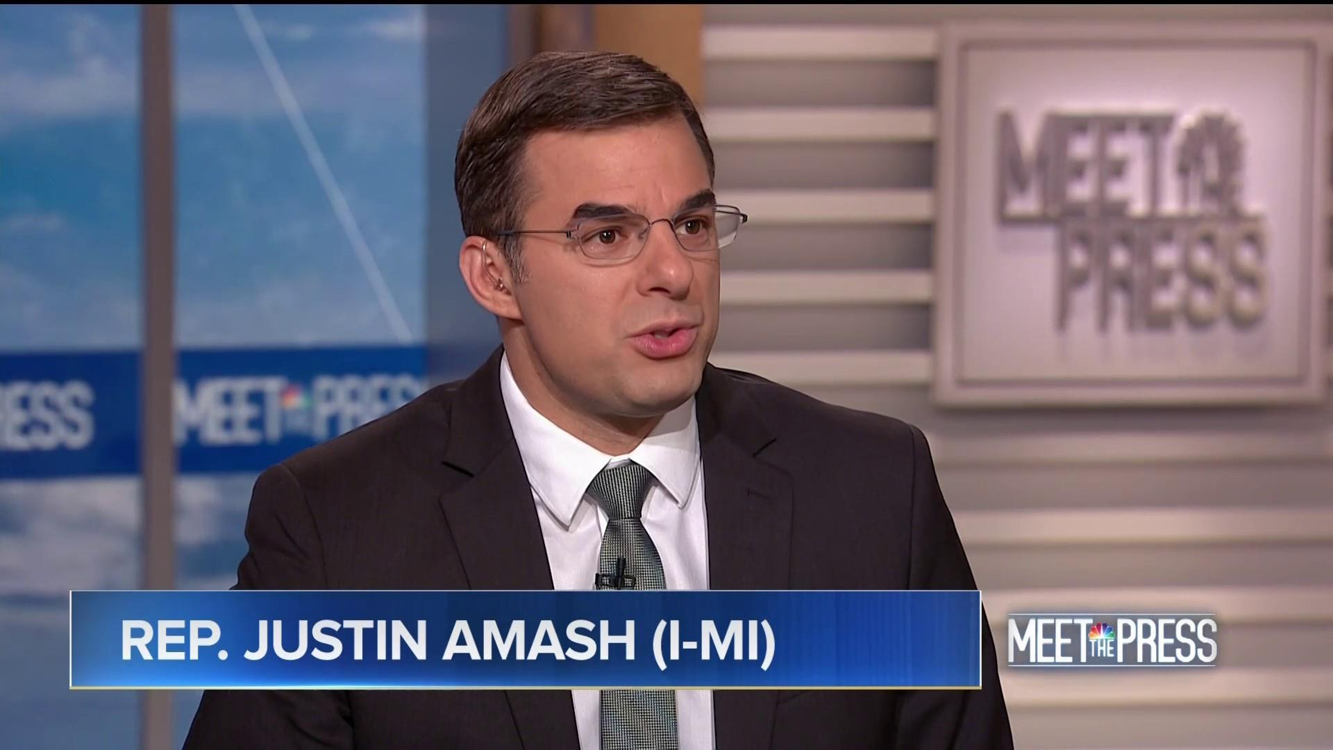 Amash: Trump's 'not bringing home the troops'