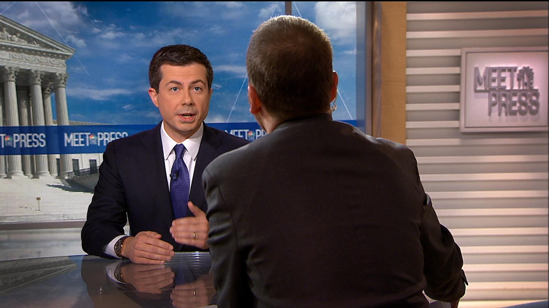 Full Buttigieg: 'Our lives depend' on U.S. credibility