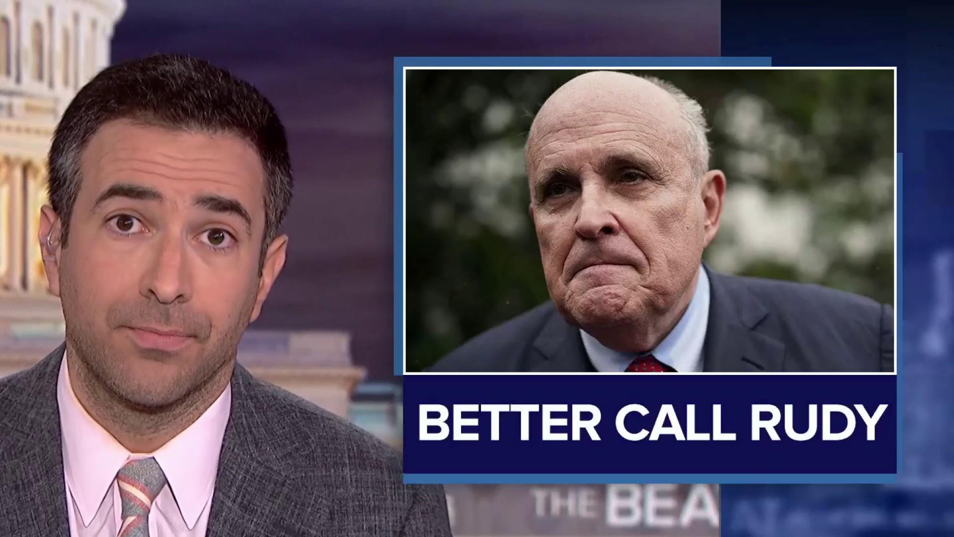 From bombshell news to Giuliani 'grenade': Trump aide warned Ukraine plot like a criminal 'drug deal'