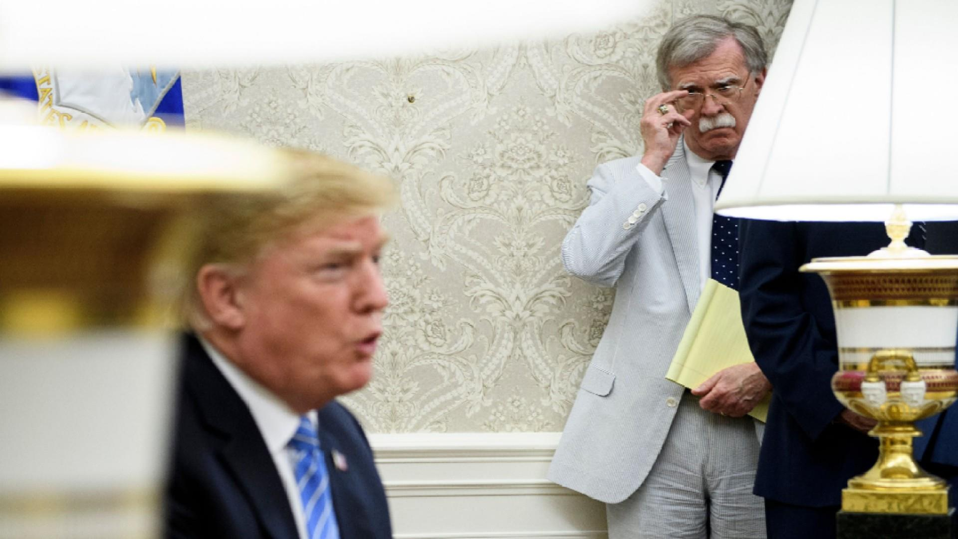 NYT: John Bolton ordered Trump aide to alert WH lawyers about Ukraine
