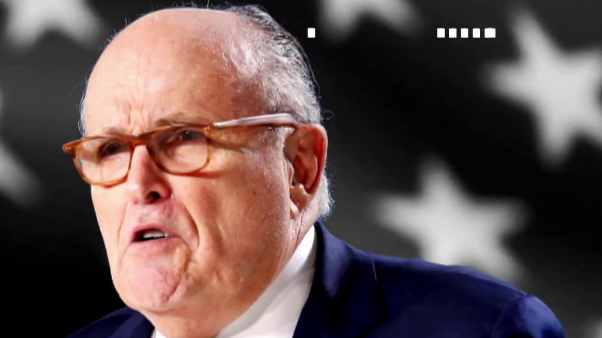 Trump lawyer Giuliani reportedly facing a counterintelligence investigation