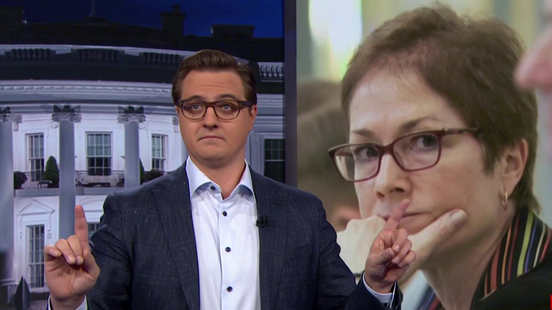 Chris Hayes: Trump era is explained by two archetypes, the Bagman and the civil servant