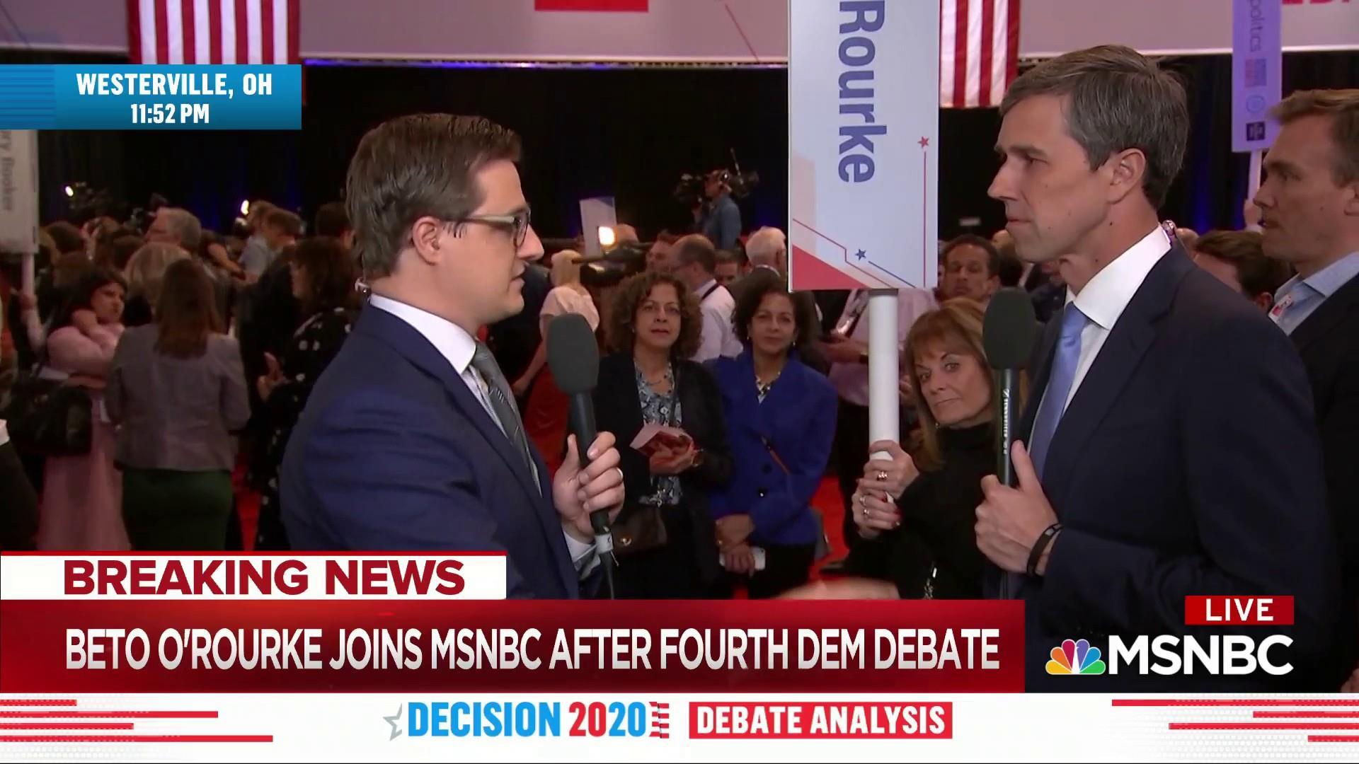 Beto on Buttigieg: 'I question his political courage'