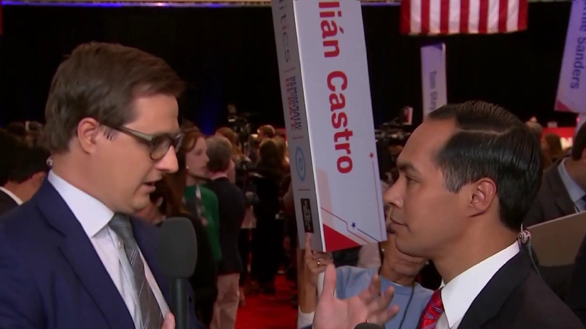 Julián Castro on debate: We didn't talk about immigration, housing