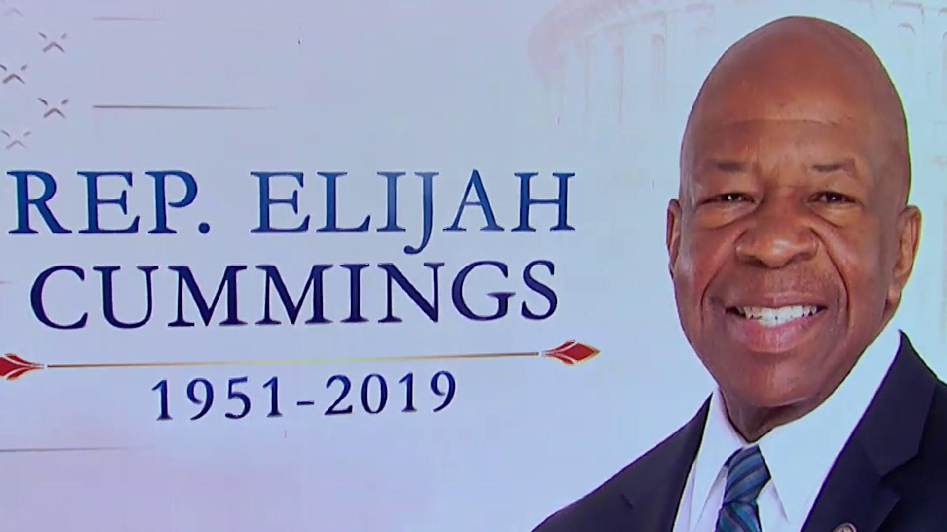Elijah Cummings remembered for leadership, time in Congress