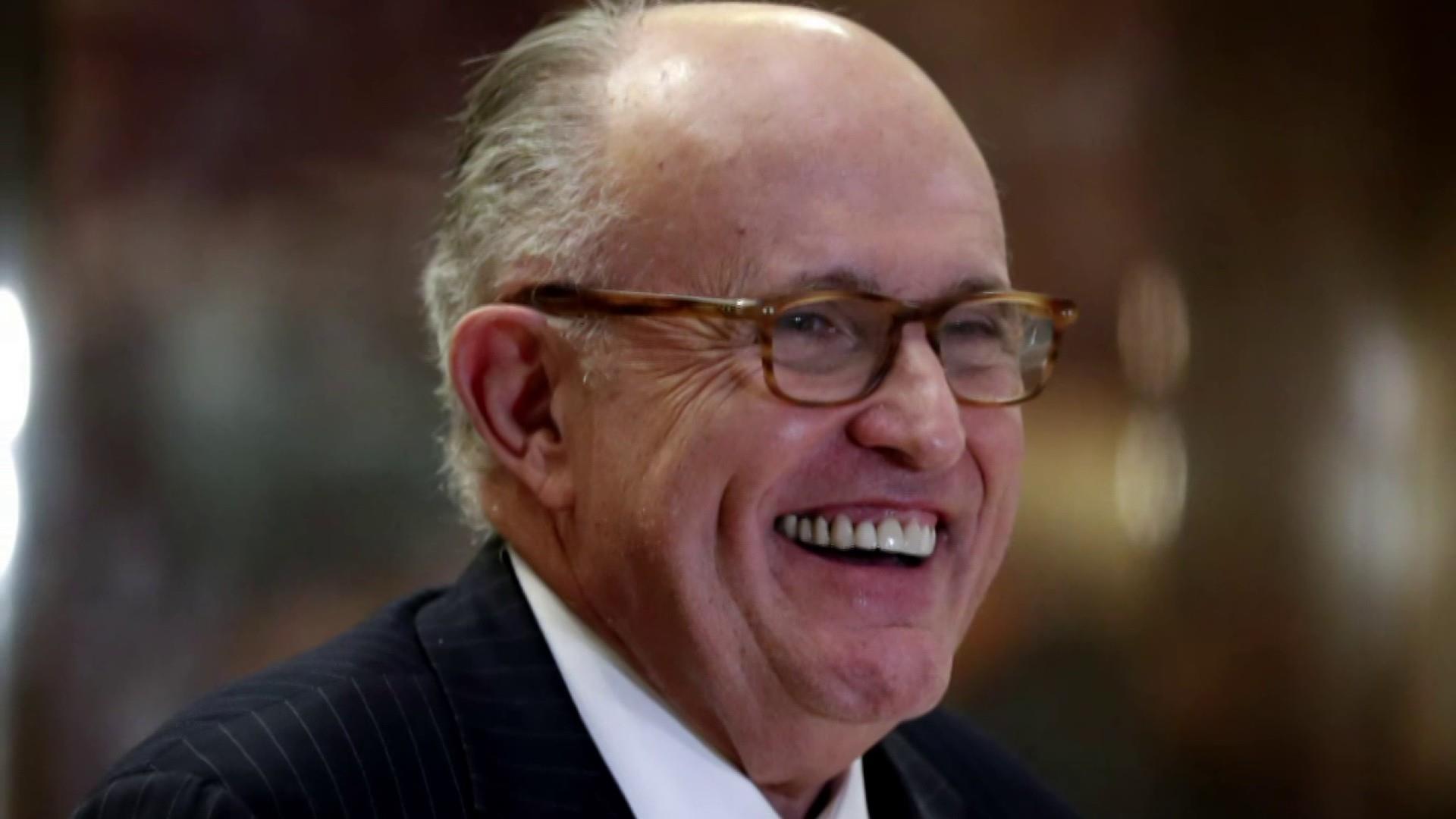 Giuliani tried to secure visa for ousted Ukrainian prosecutor