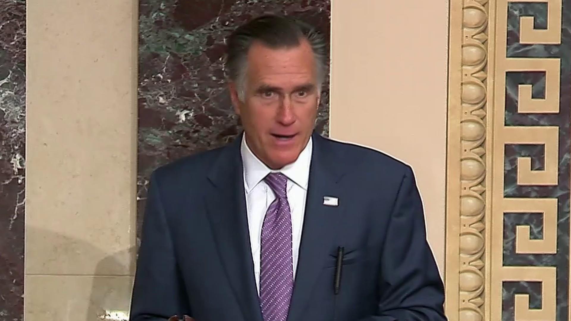 Romney Speaks Out