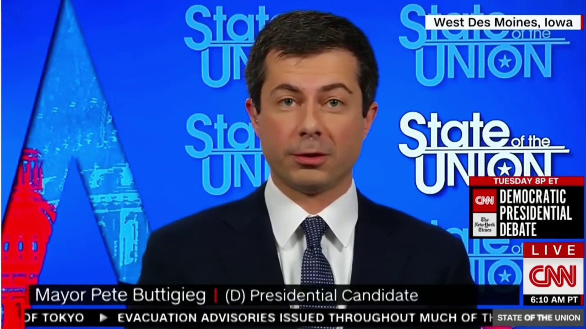 Buttigieg reacts to calls to strip religious orgs of tax status