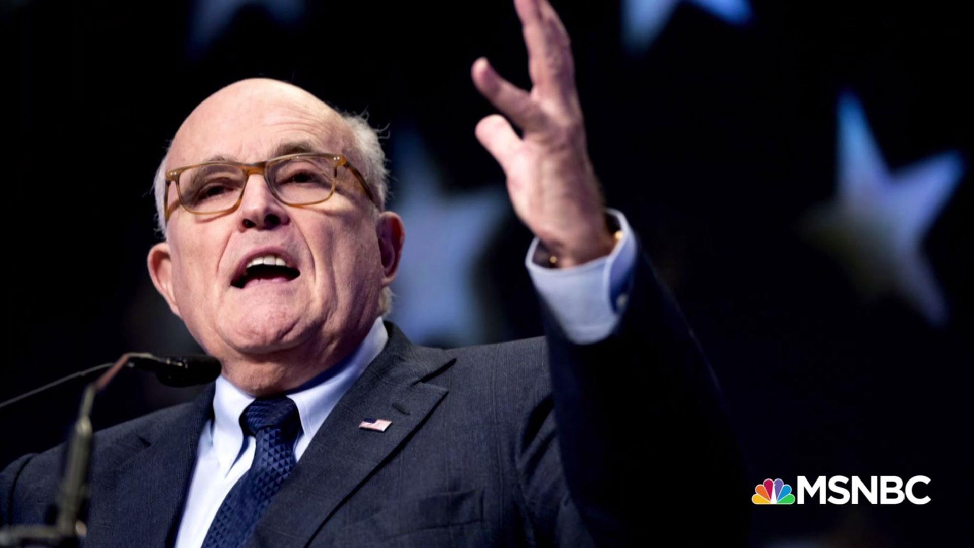 Evidence? What we learned from Giuliani's butt-dial