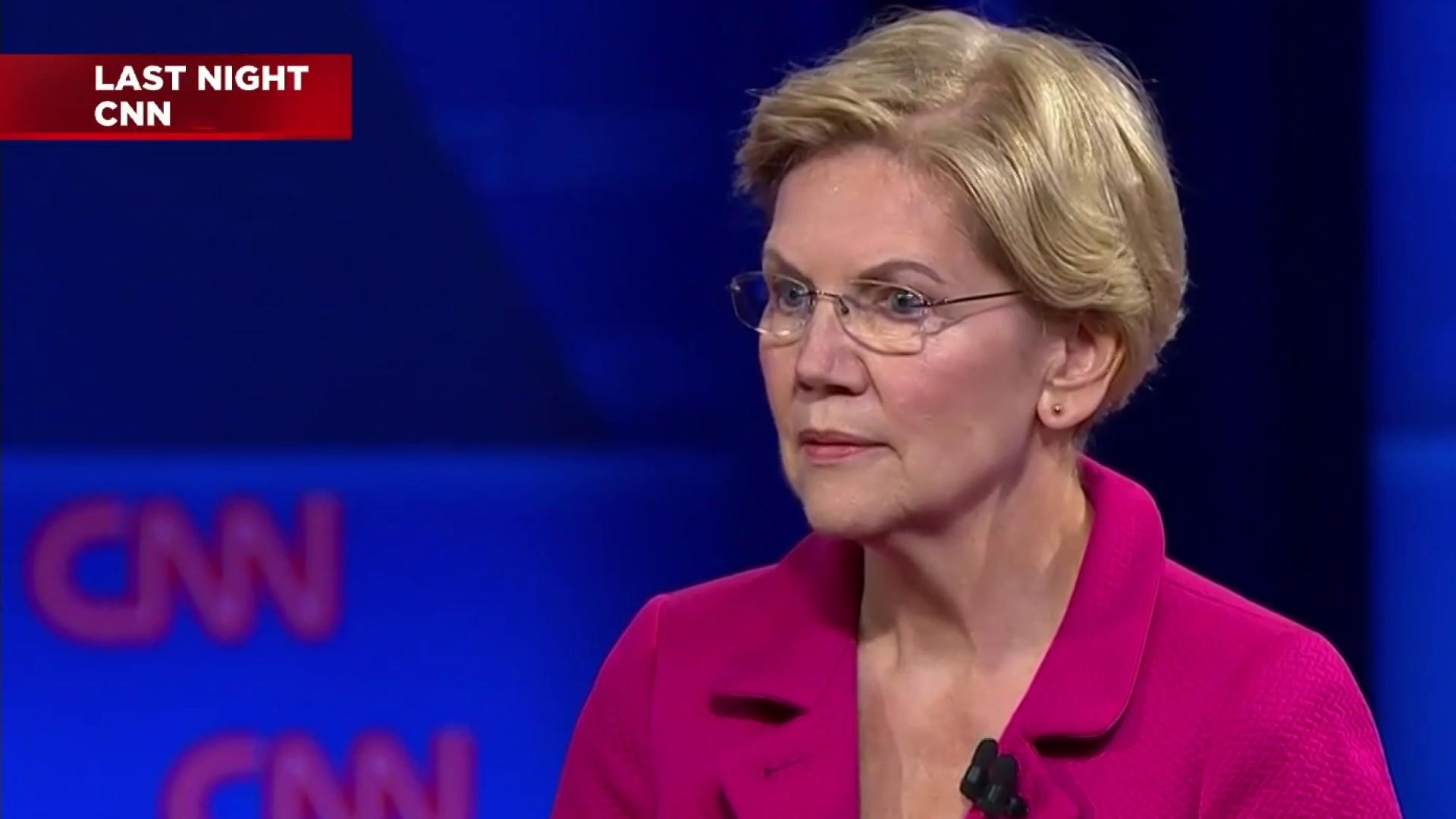 Elizabeth Warren's comeback at CNN LGBTQ forum goes viral