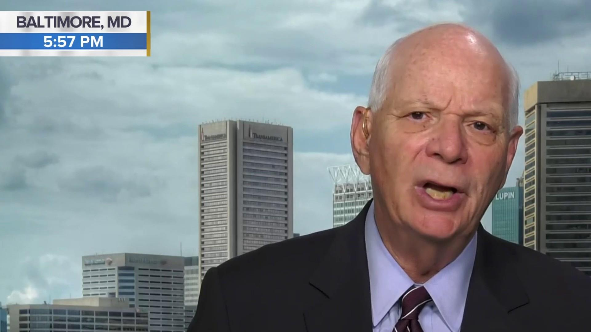 WATCH: Sen. Ben Cardin (D-Md.) joins Chuck to talk about the withdrawal of US forces from Syria