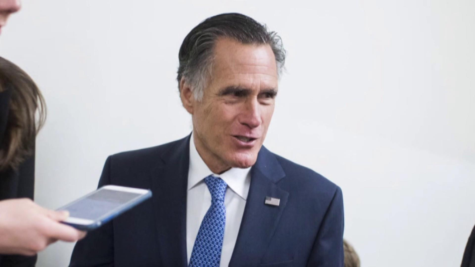 Romney leading the Republican charge against Trump