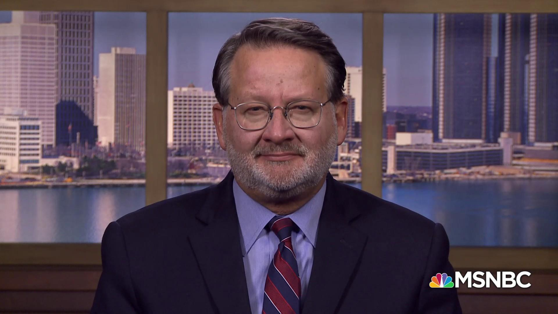 Sen. Gary Peters: Trump is 'acting erratically practically in the area of foreign policy'