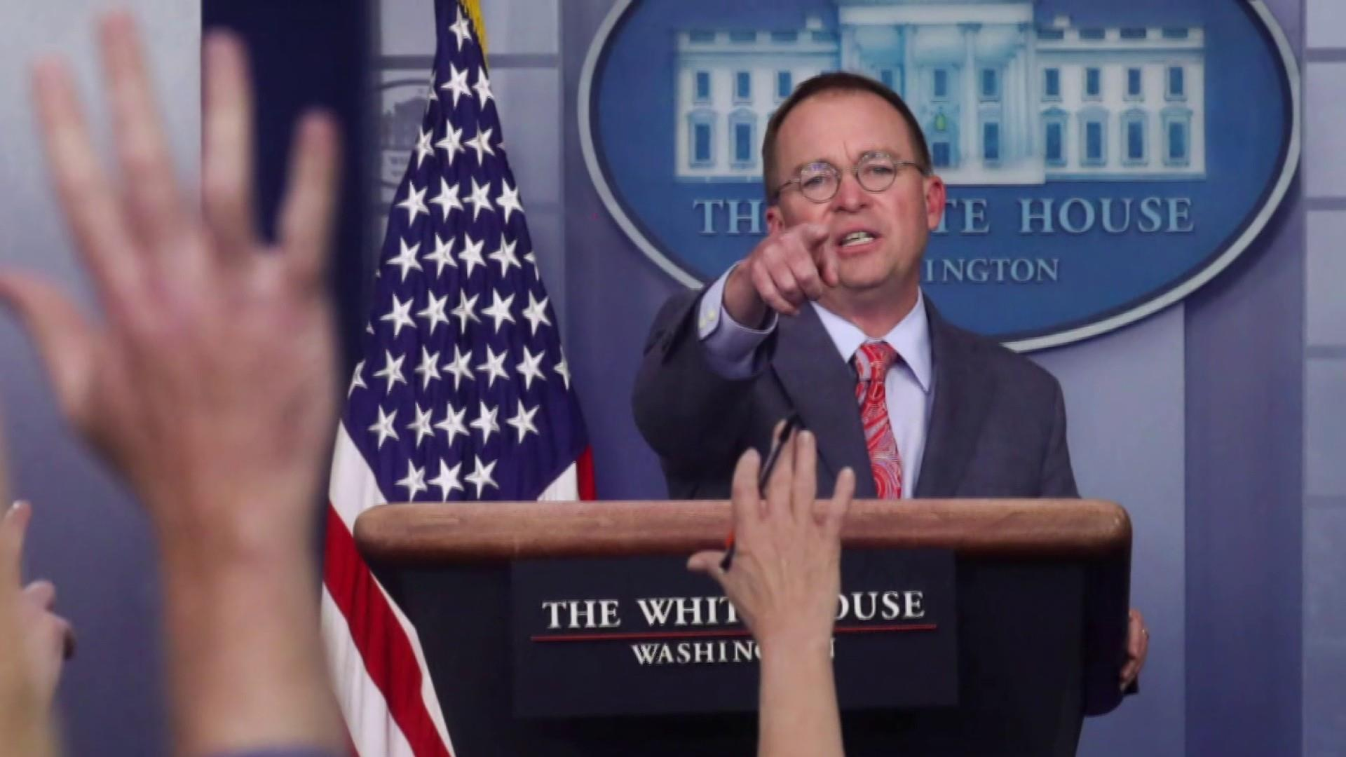 The Inquiry: White House impeachment defenses crumble after Mulvaney press briefing