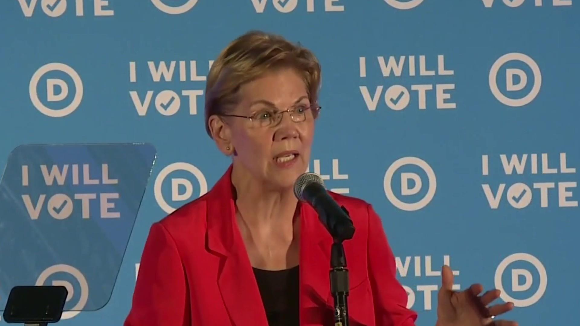 Warren slams Facebook over political advertising policy