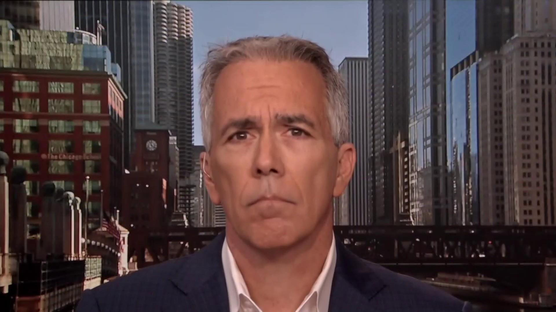 Joe Walsh: Trump is 'the most disloyal president we've ever had'