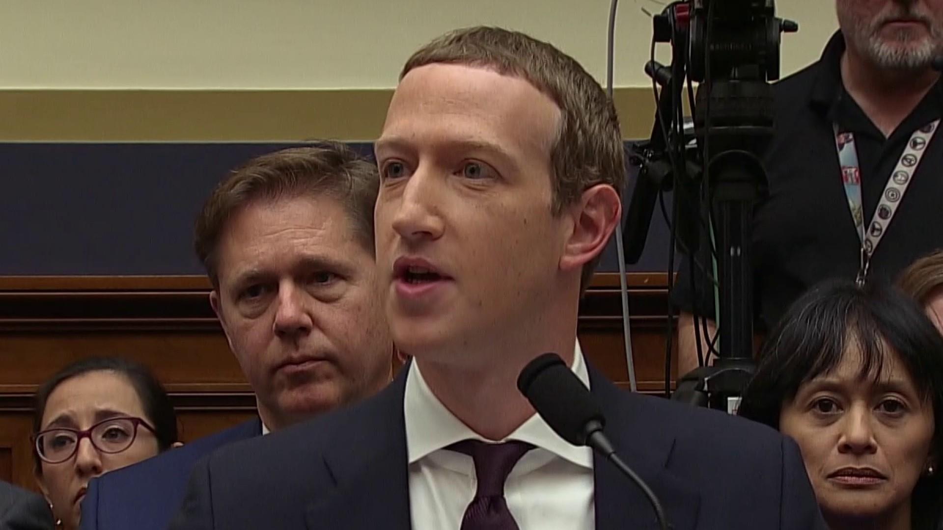 Mark Zuckerberg testifies on Facebook cryptocurrency