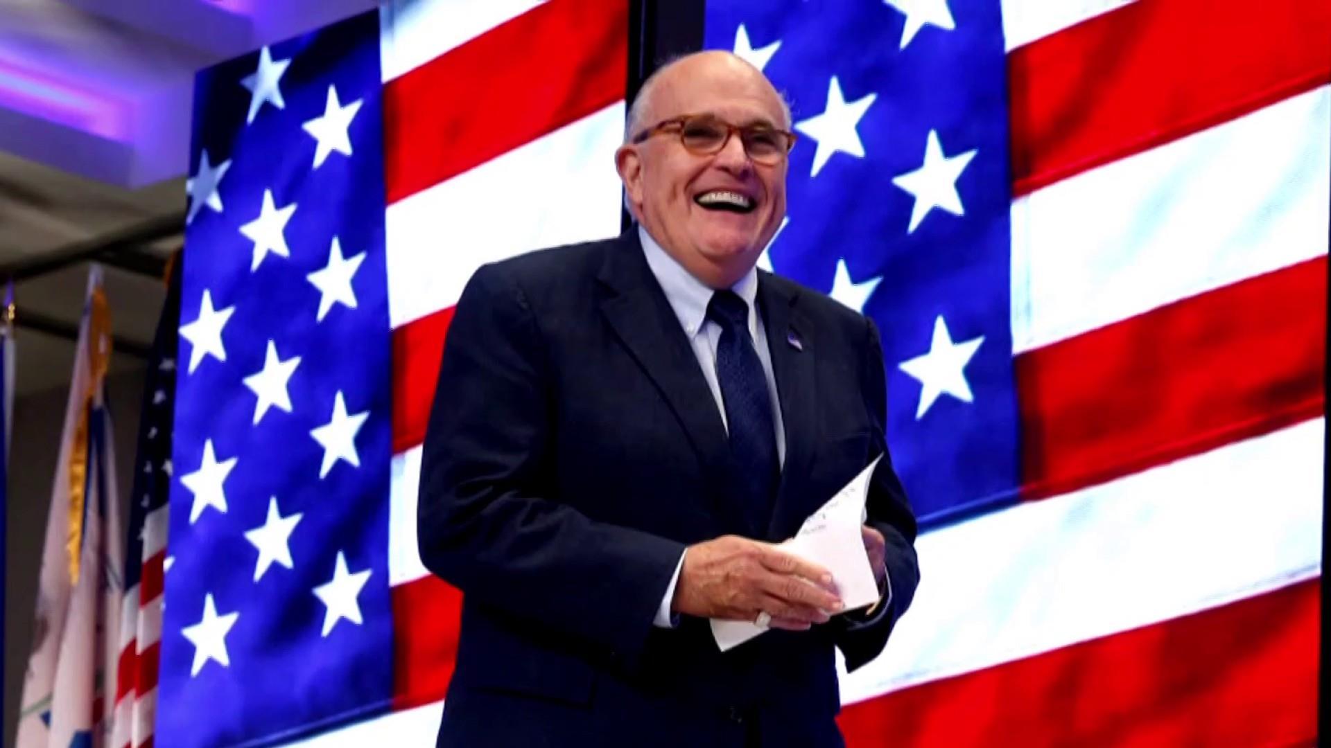 Rudy Giuliani's disinformation dossier
