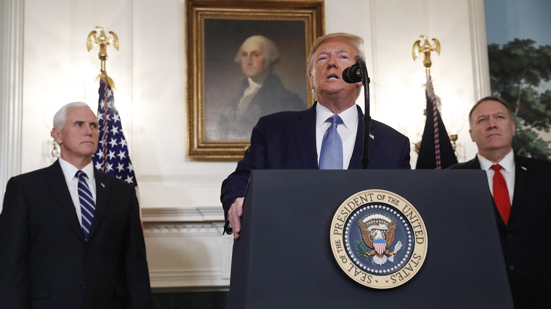 Trump announces lifted sanctions against Turkey after Syrian cease-fire