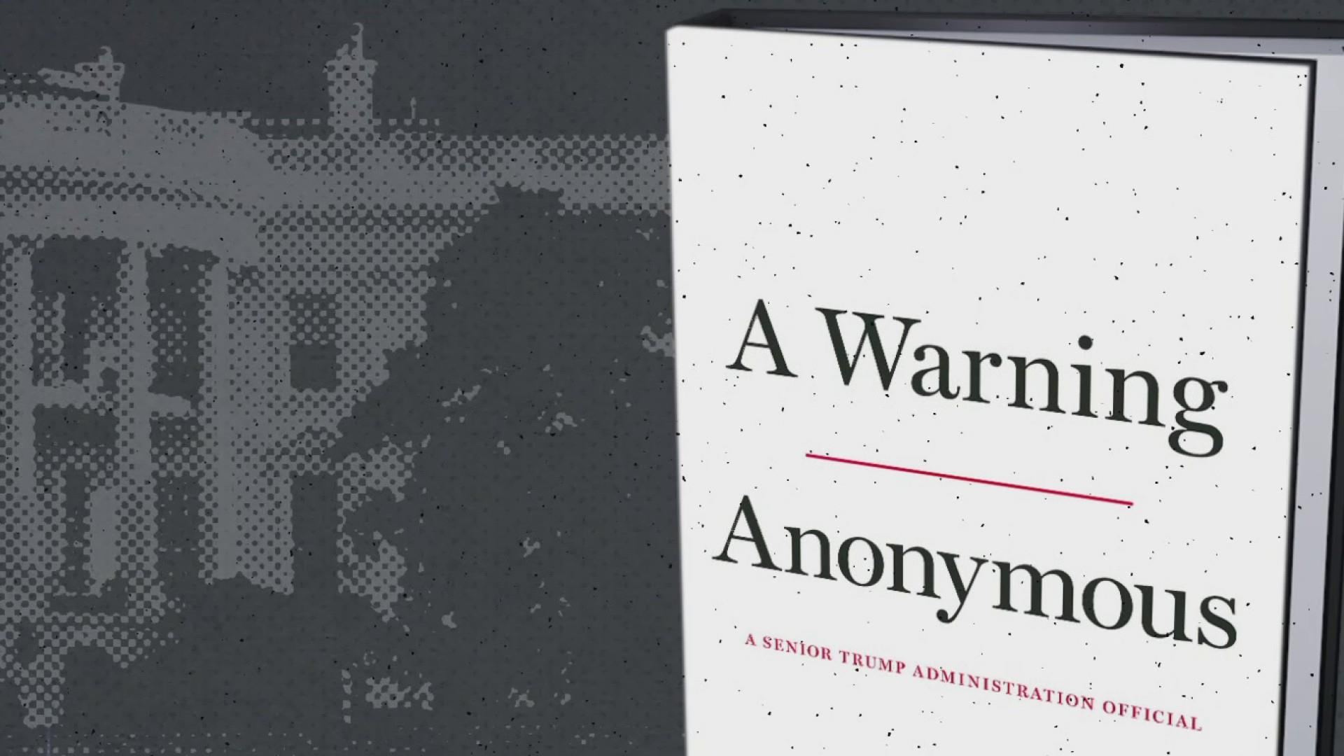 Author of anonymous 'resistance' op-ed has written a book about Trump