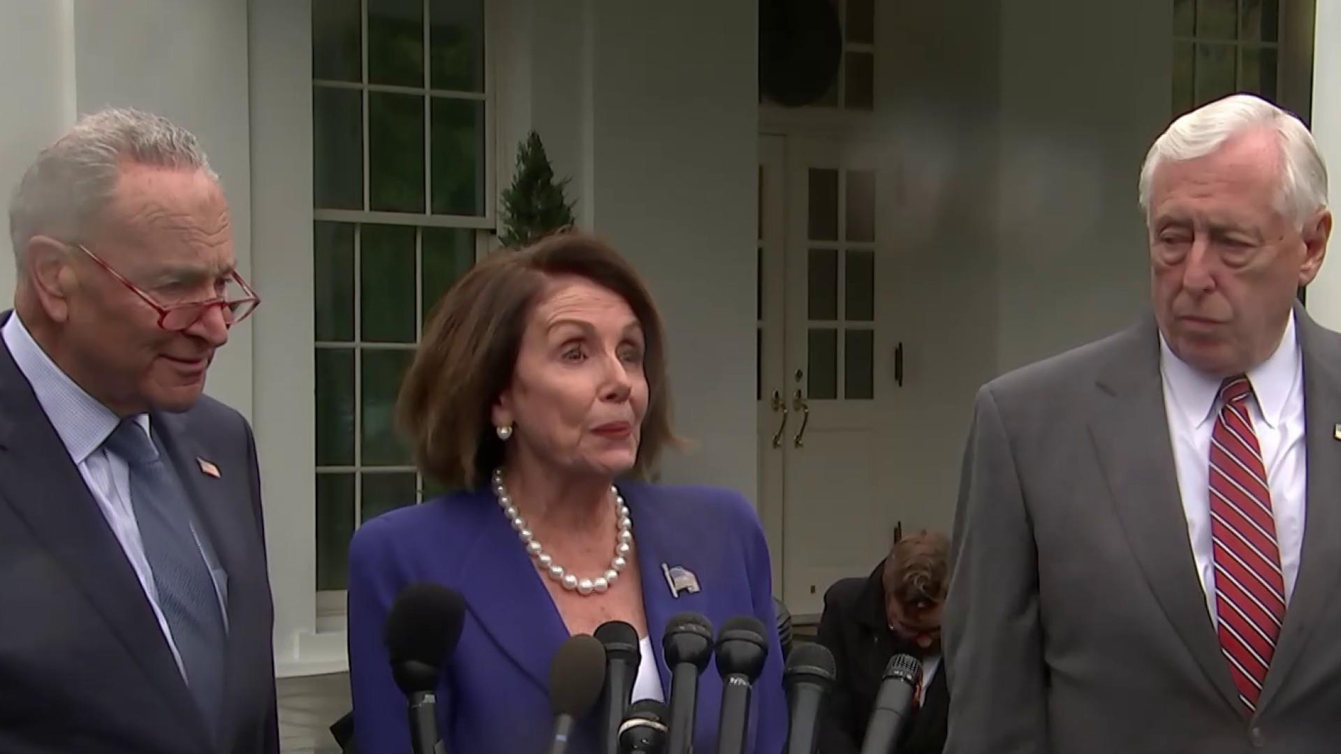 Democrats angrily walk out of White House meeting after Trump 'meltdown'