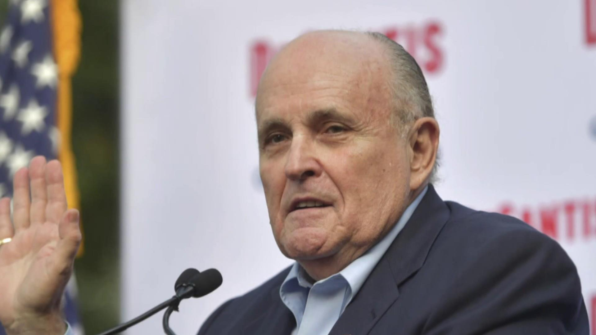 Rudy Giuliani pressed Trump administration for visa for ousted Ukraine prosecutor