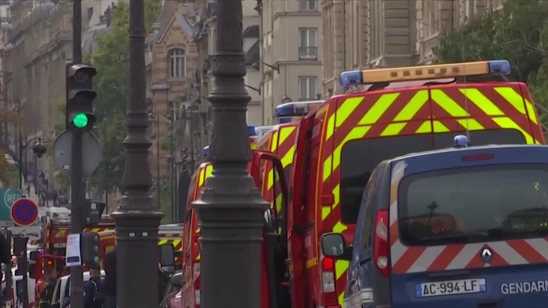 IT worker kills 3 police officers, administrative employee in knife attack at Paris police headquarters