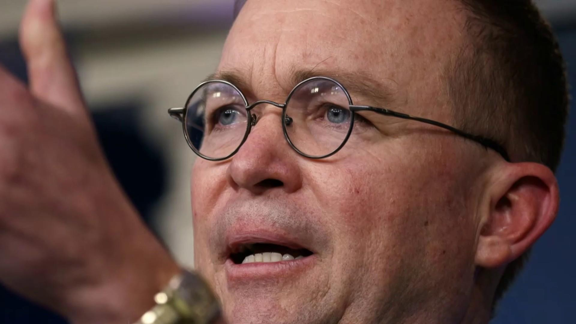 White House in damage control after Mulvaney's quid pro quo admission, backtrack
