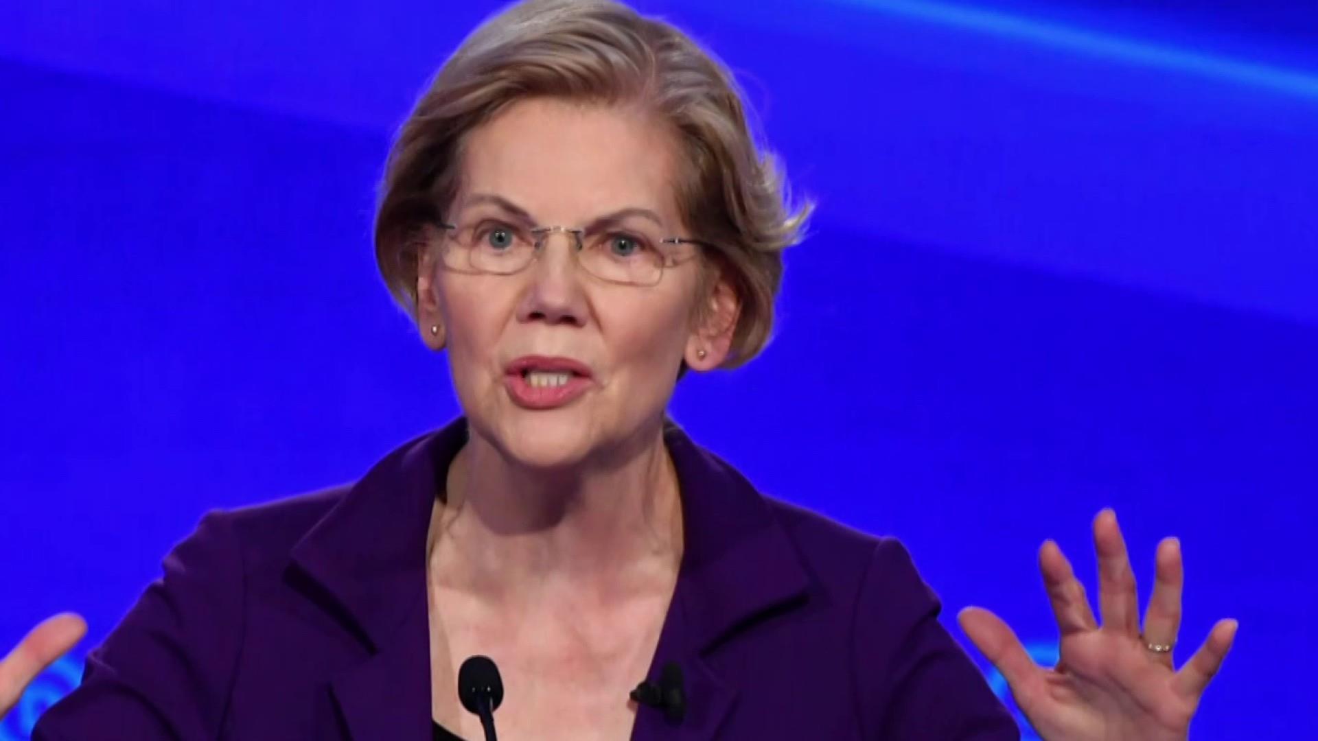 2020 Democrats try to blunt Elizabeth Warren's momentum at Democratic debate