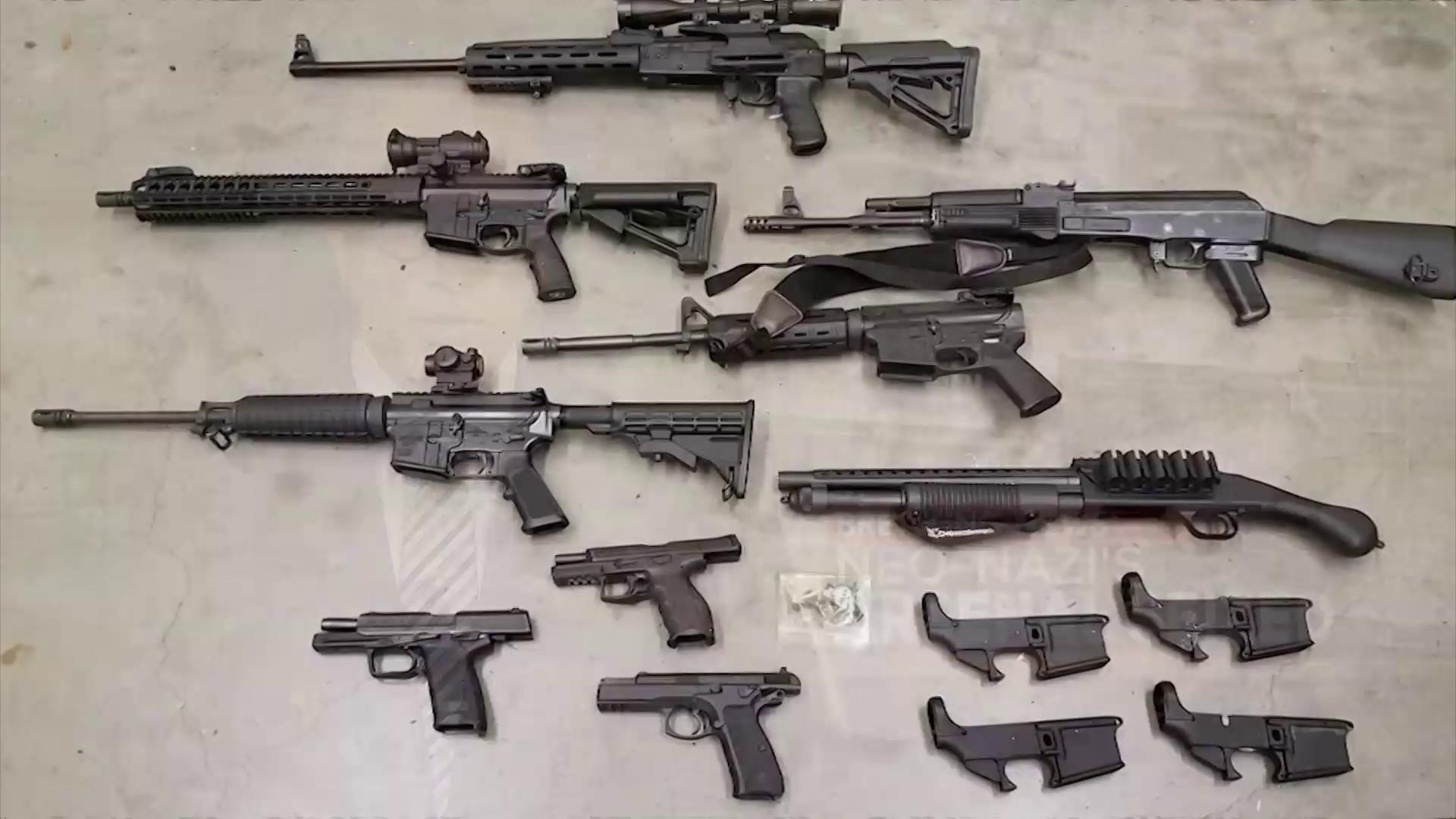 Guns seized from Washington man said to be neo-Nazi leader prepping for 'race war'