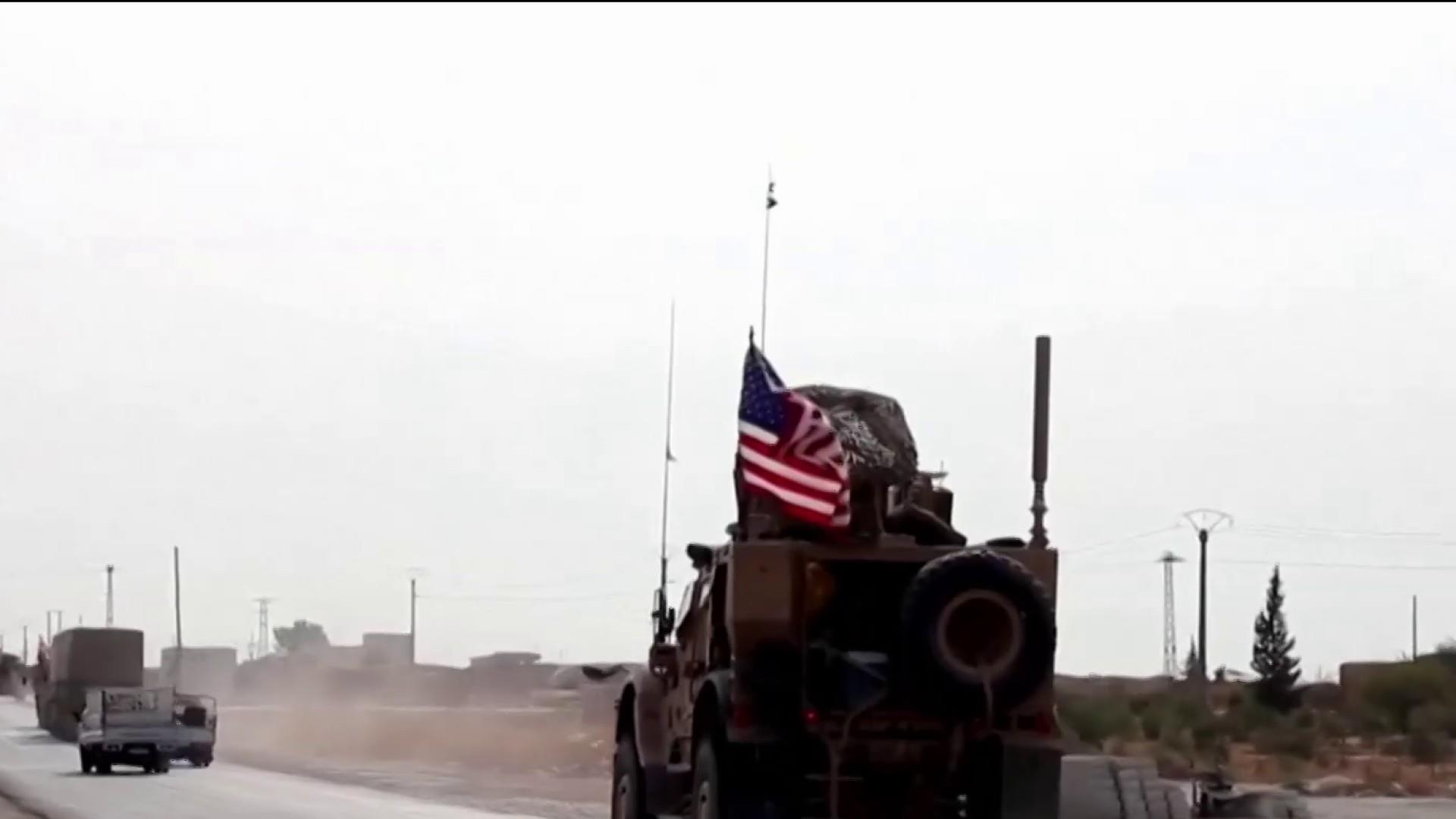 U.S. troops leaving Syria for western Iraq as Kurds pull back amid cease-fire