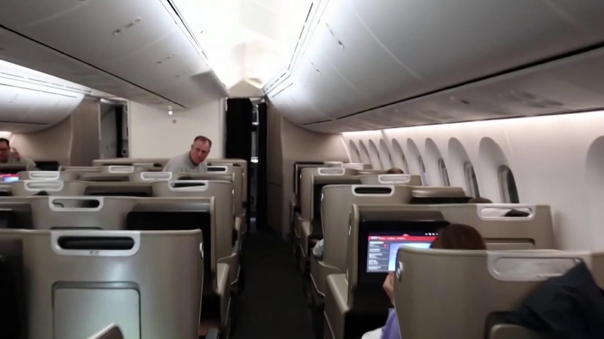 Doing the 'Macarena' at 2 a.m. on Qantas' record-breaking 19-hour flight