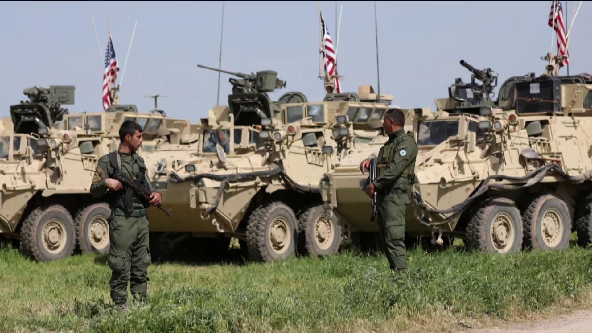 Turkey continues Syria offensive despite U.S. sanctions