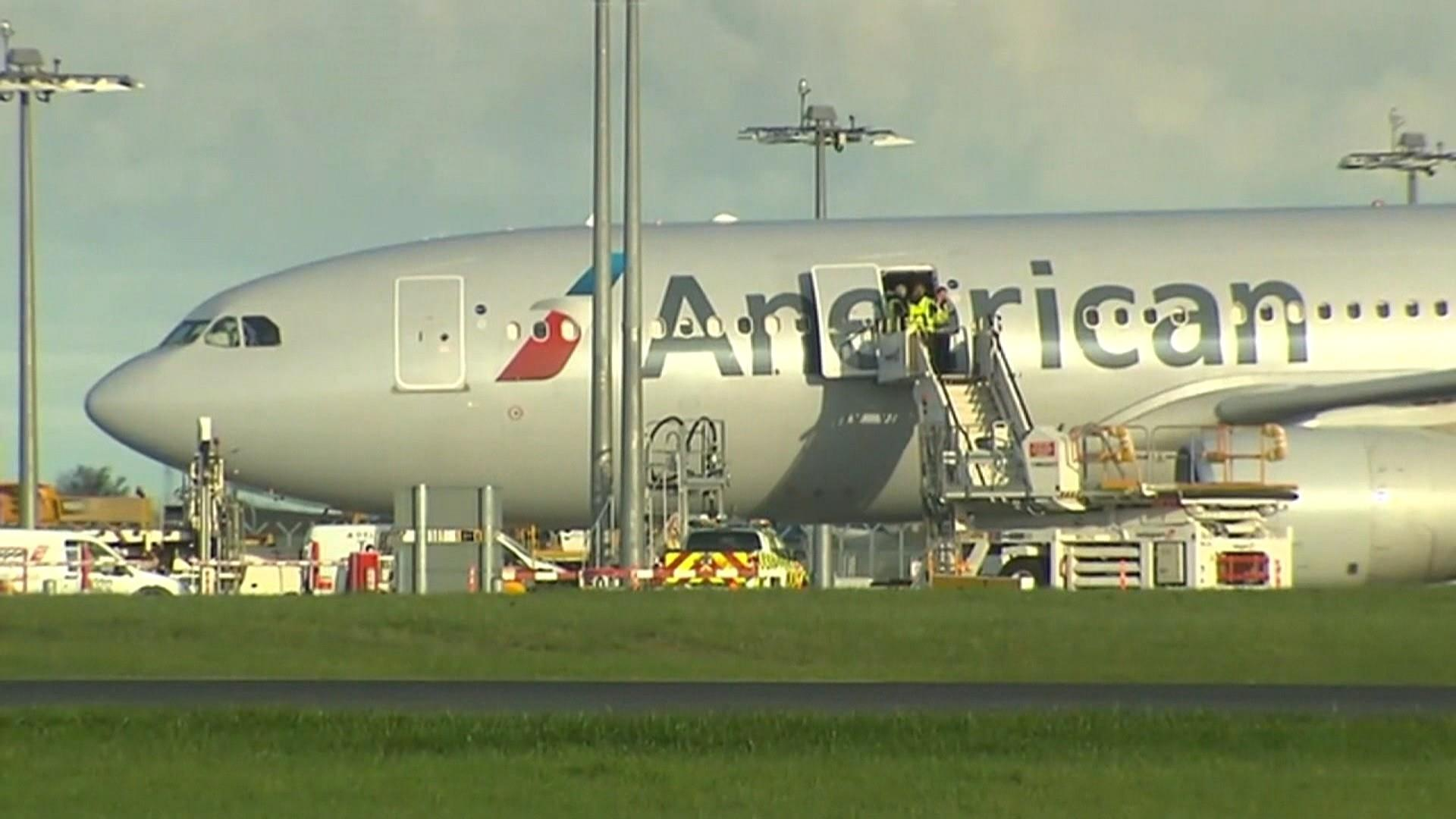 American Airlines flight makes emergency landing in Dublin after cleaning fluid spill in cabin