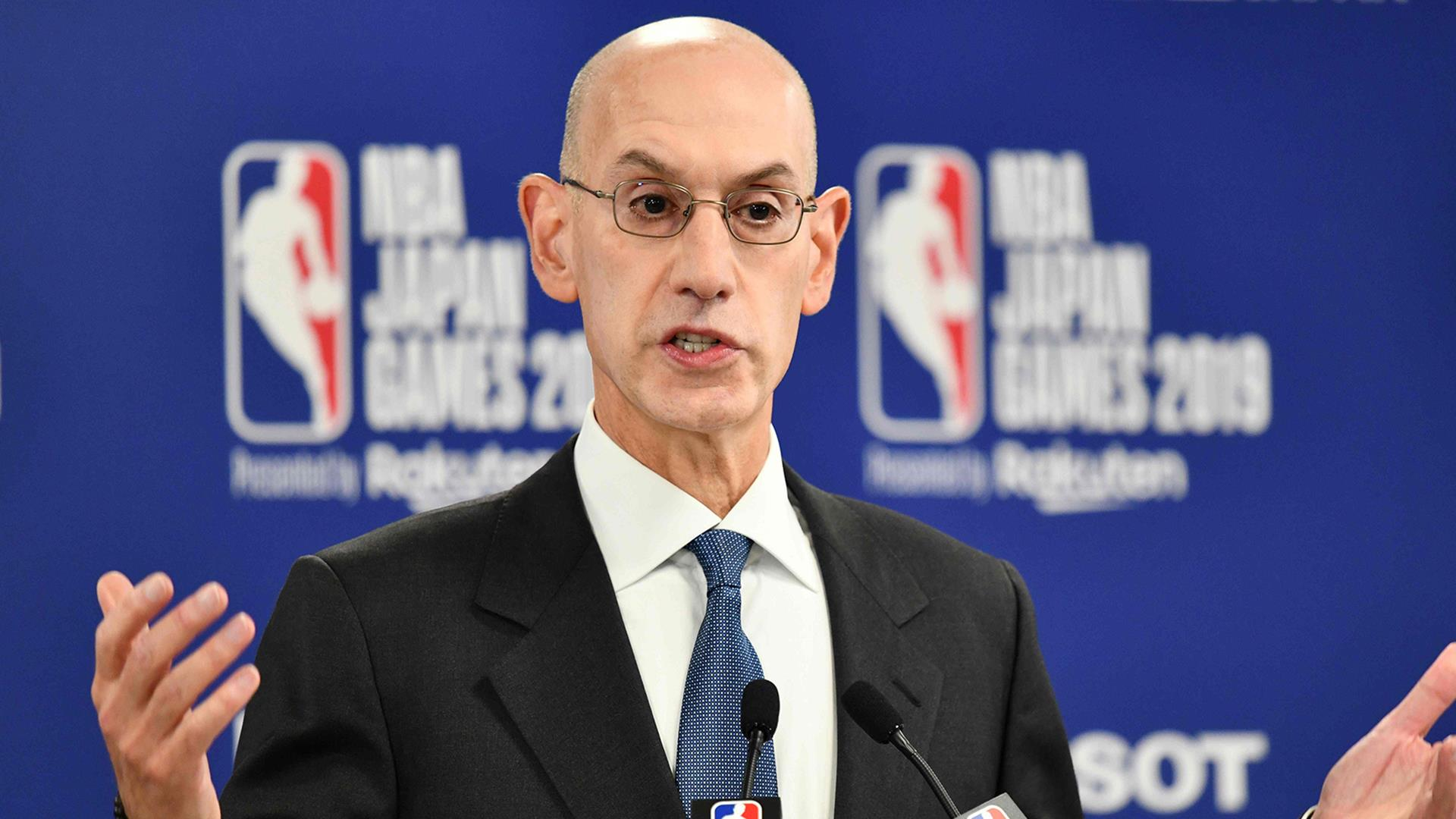 NBA's China problem deepens as commissioner backs exec