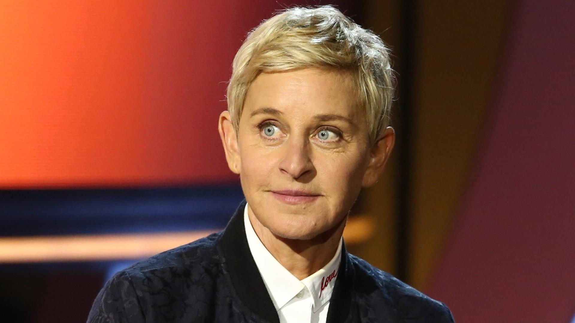 Ellen DeGeneres defends sitting next to George W. Bush at NFL game