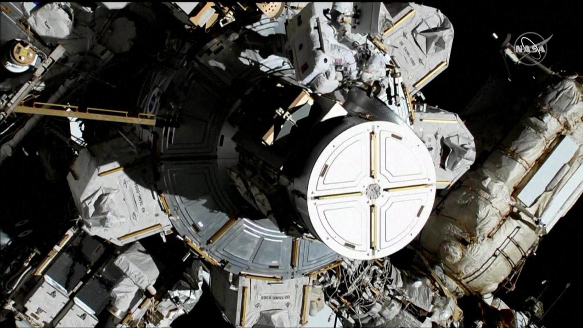 Astronauts Jessica Meir and Christina Koch complete historic spacewalk