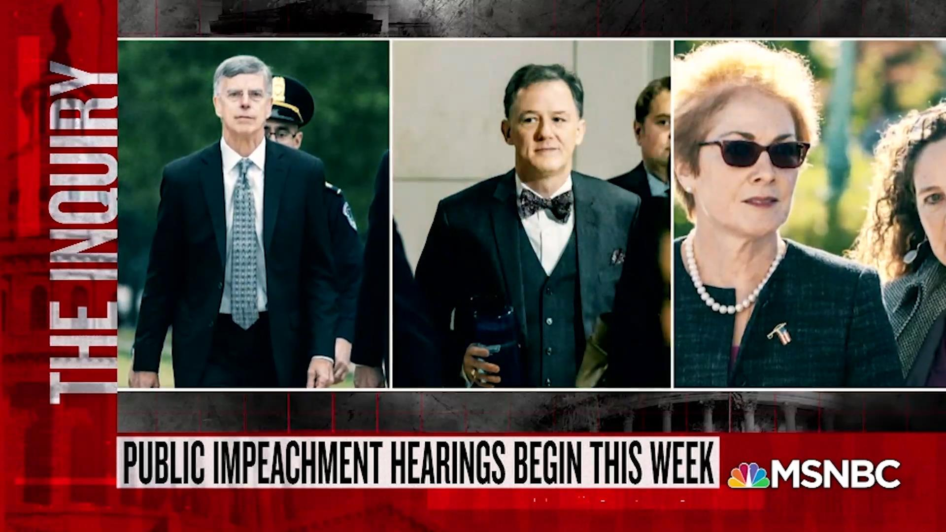 Katy Tur breaks down the latest developments in the impeachment inquiry against President Trump