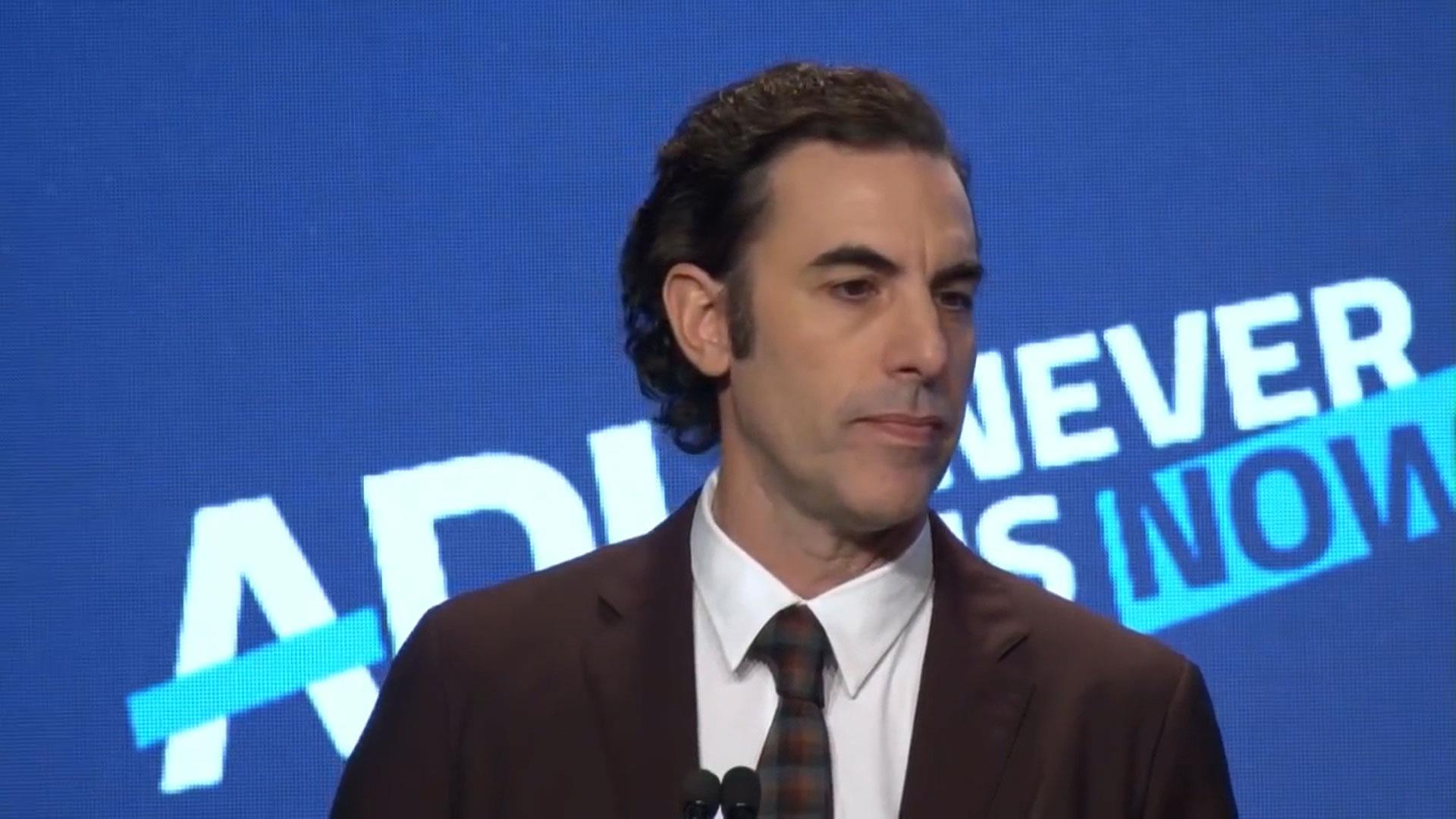 'Greatest propaganda machine in history': Sacha Baron Cohen slams Facebook, other social media companies