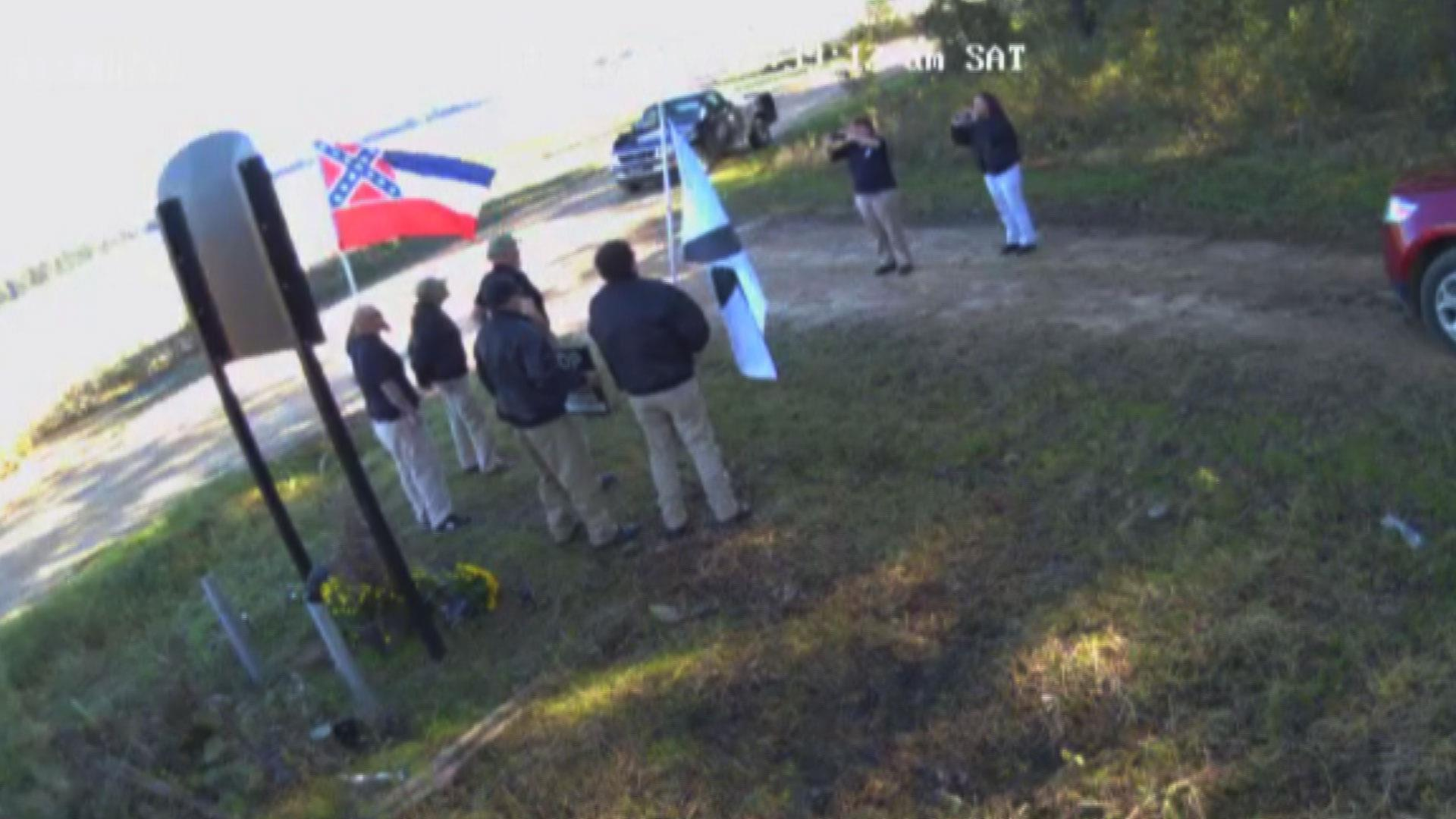 White nationalists caught trying to record video in front of Emmett Till memorial