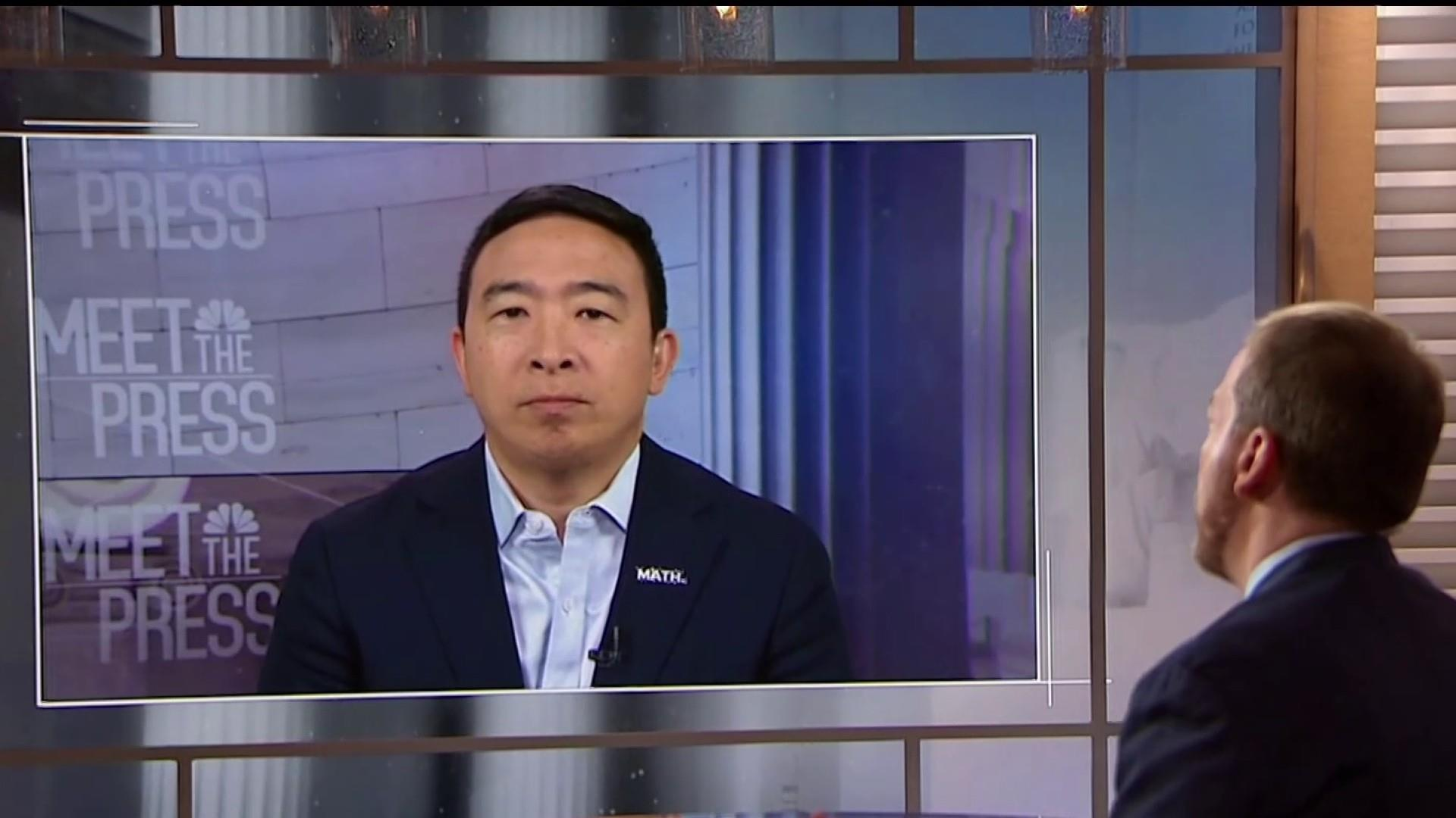 """'Technology is the oil of the 21st Century,"""" 2020 candidate Andrew Yang says"""